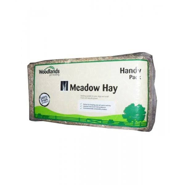 Woodlands Small Handy Pack Meadow Hay, 1 kg