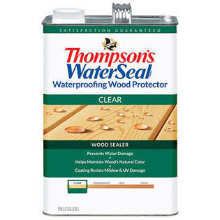 Thompson's Waterseal Wood Protector - Clear