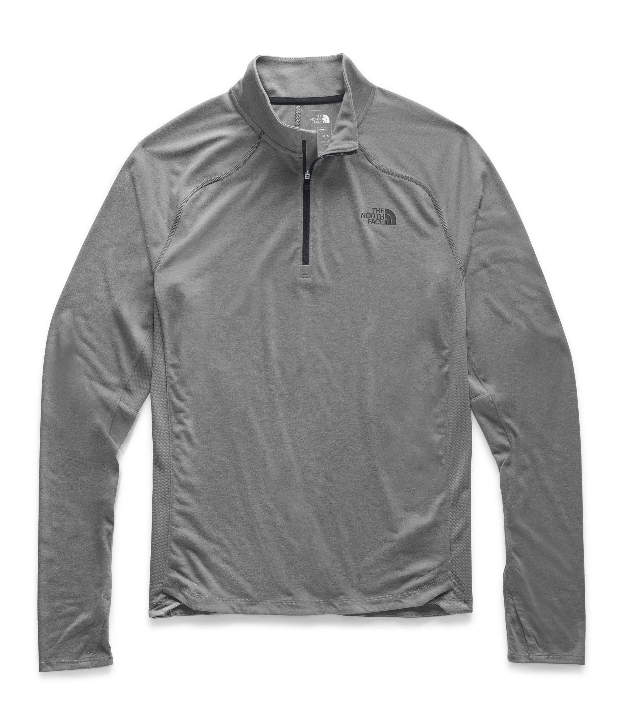 The North Face Men's Essential 1/4 Zip, TNF Medium Grey Heather, M