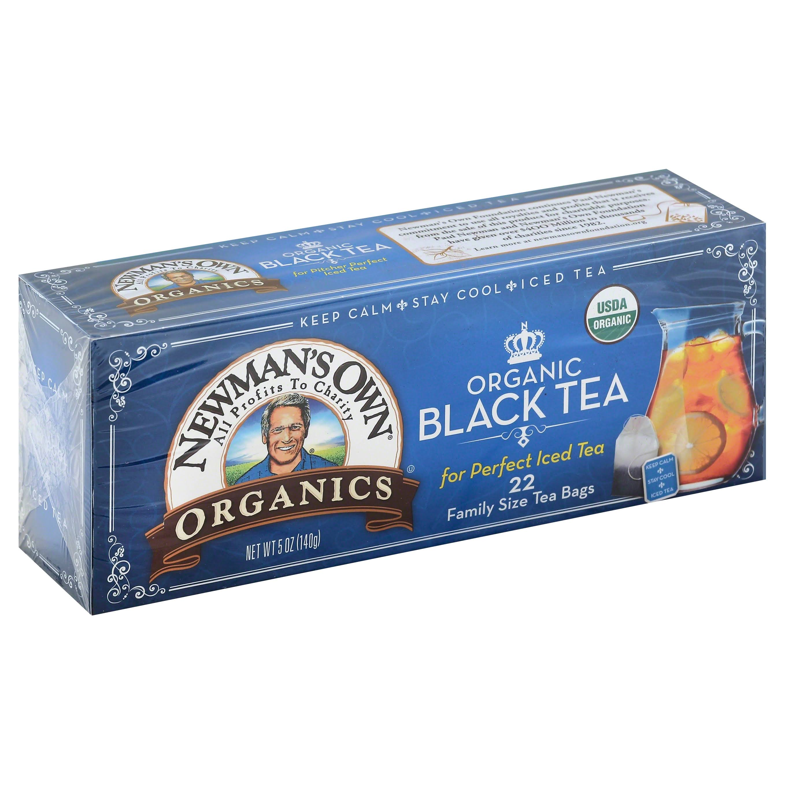 Newman's Own Organics Organic Royal Black Tea - 22 Tea Bags, 4.95oz
