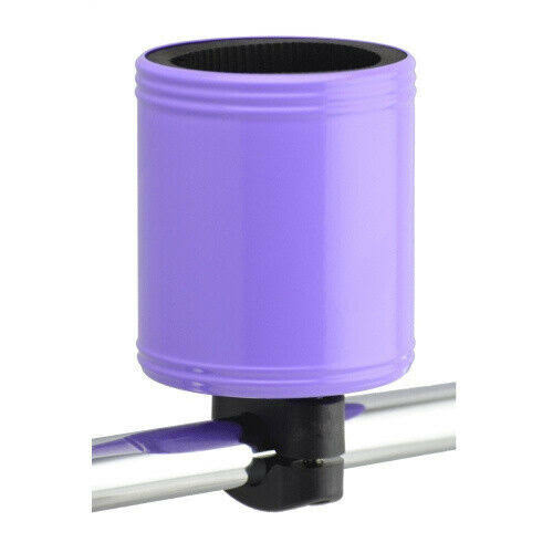 "Kroozie Kroozercups Bicycle Cup Holder - 2.0"", Purple"