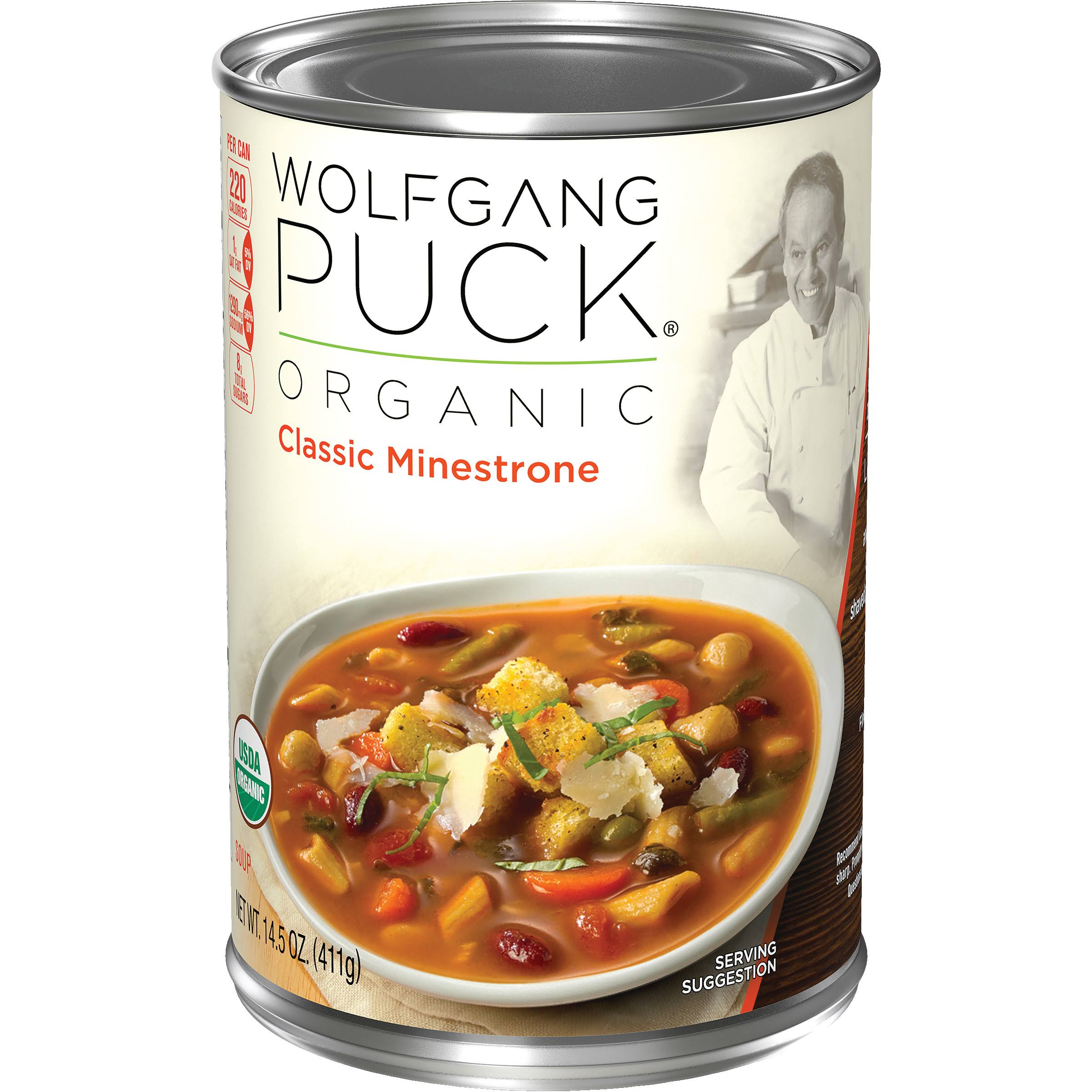 Wolfgang Puck Organic Soup - Classic Minestrone, 14.5oz