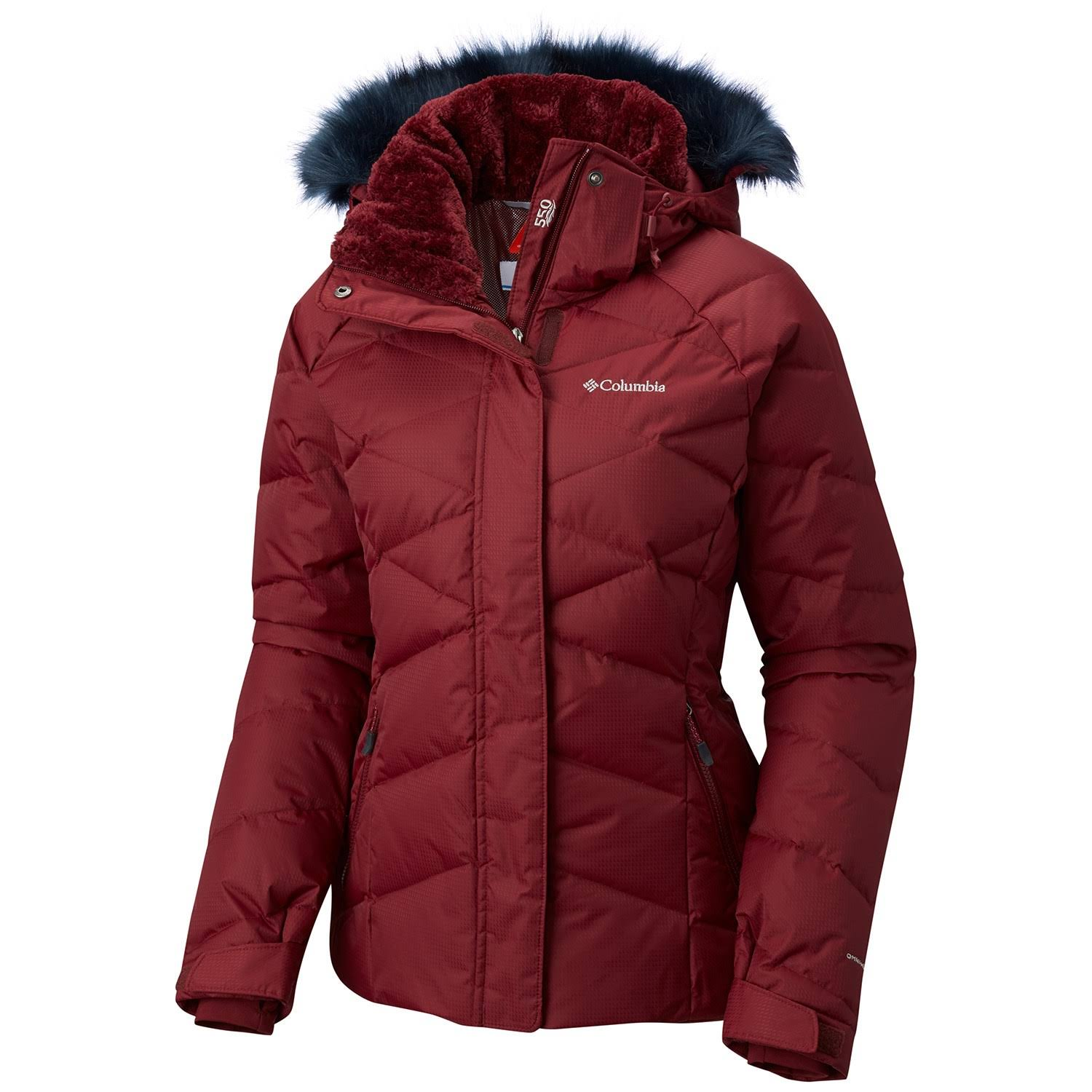 Columbia Women's Lay D Down II Jacket - XS - Rich Wine
