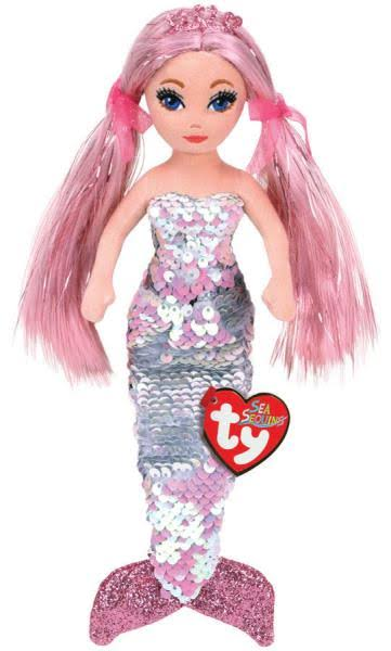Ty Sea Sequins Plush Mermaid - Cora (Medium Size - 18 inch)