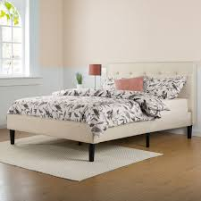 Wayfair White King Headboard by Queen Platform Bed In Pine Crafts Drawers And Beds With