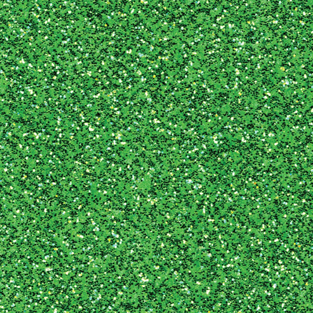 "American Crafts 377769 Coredinations Specialty Cardstock Glitter Silk - Green Sheen, 12""x12"", 20ct"