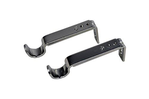 Versailles Home Fashions Single Wall Brackets - Set of 2