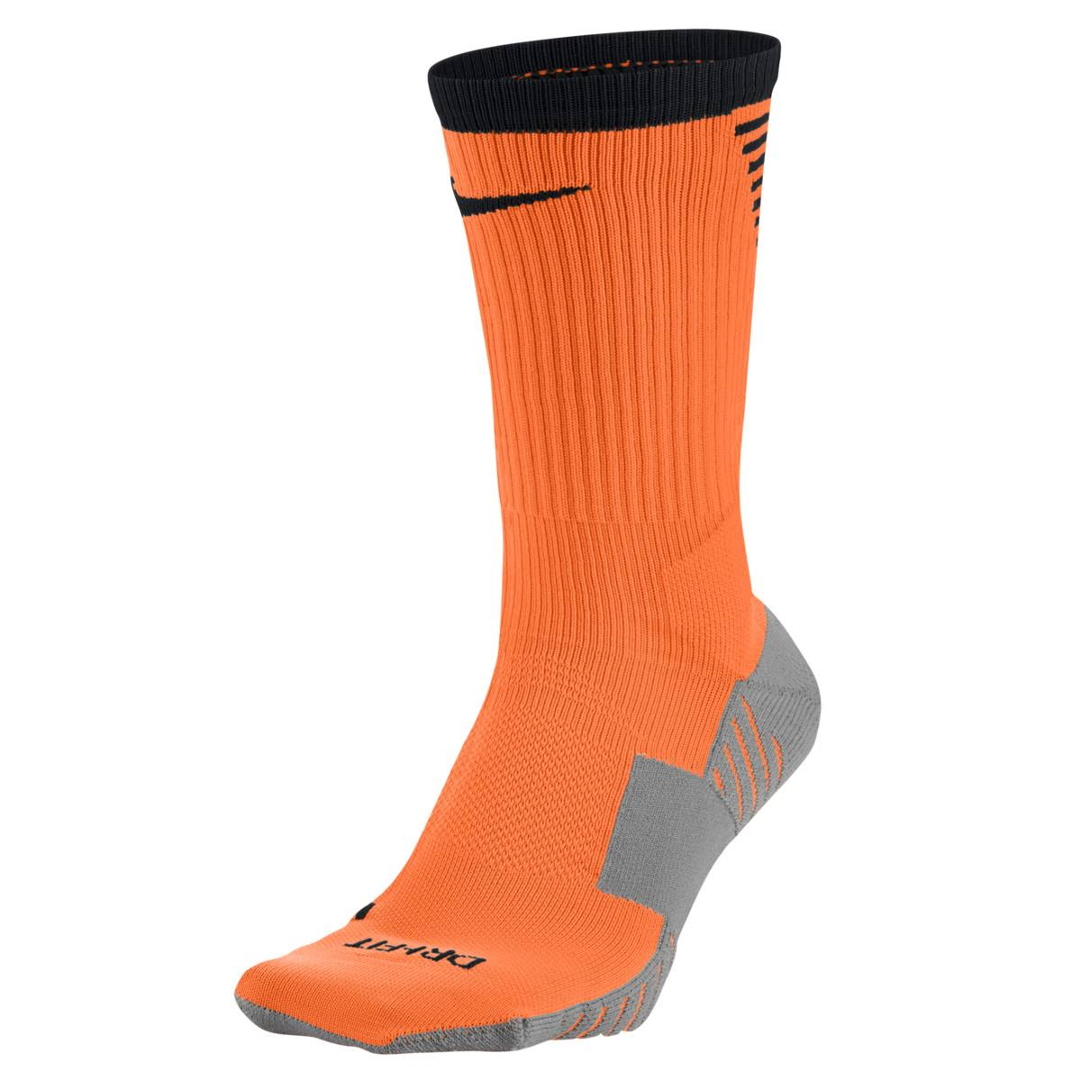 Nike Dry Squad Crew Football Socks - Orange