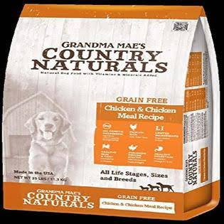 Grandma Mae S Country Nat Country Naturals Grain Free Limited Ingredient Dog Chicken 25 lb
