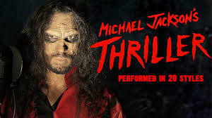 List 3 Other Names For Halloween by Michael Jackson Thriller Ten Second Songs 20 Style Halloween