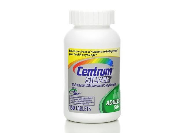 Centrum Silver Multivitamin Supplement - 150 Tablets