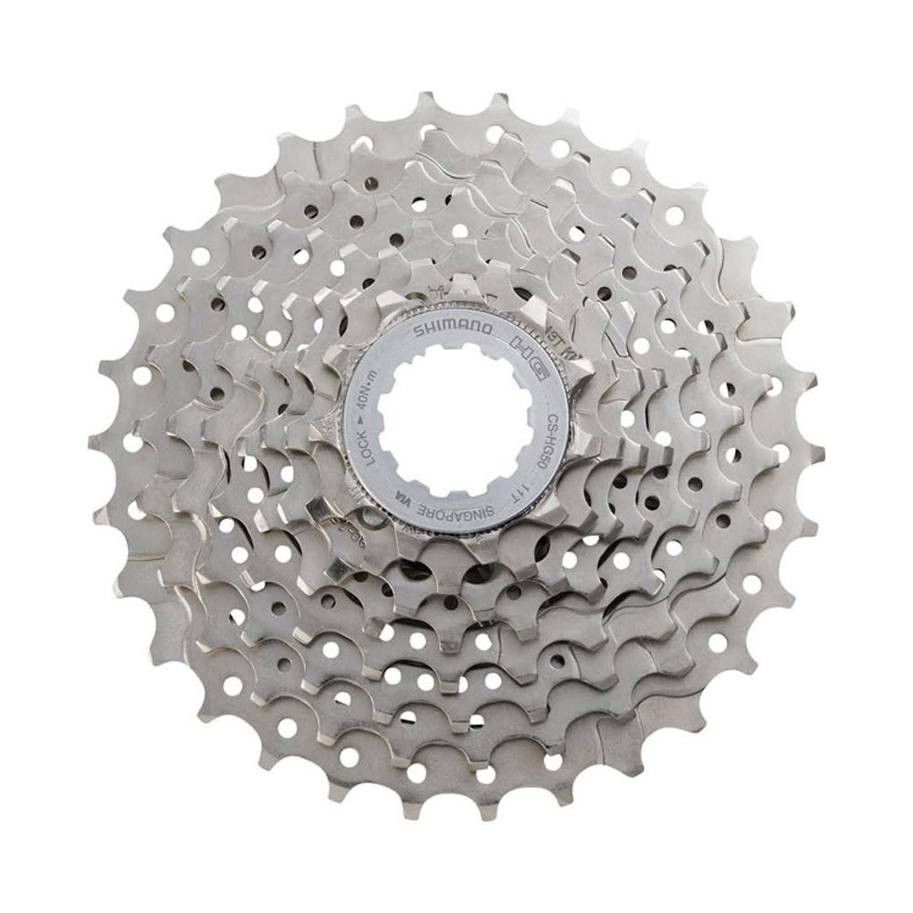 Shimano CS-HG50 8-Speed Cassette - Silver
