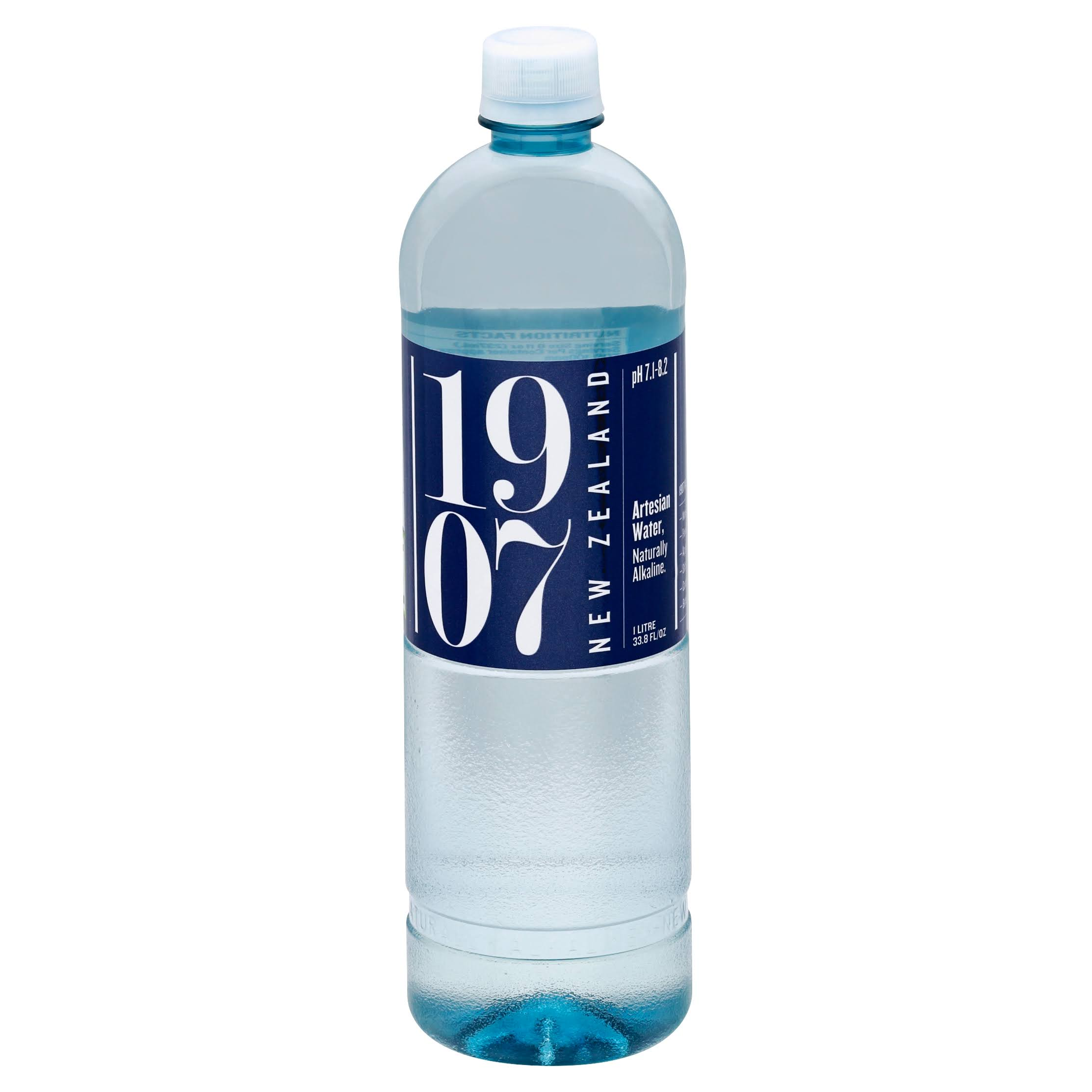 1907 New Zealand Artesian Water - 33.8 fl oz bottle