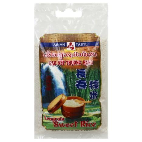 Asian Taste Rice, Sweet, Long Grain - 5 lbs
