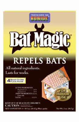 Bonide Bat Magic Animal Repellent - 4pk