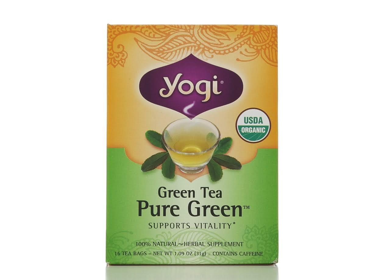 Yogi Pure Green Tea - 16 Tea Bags