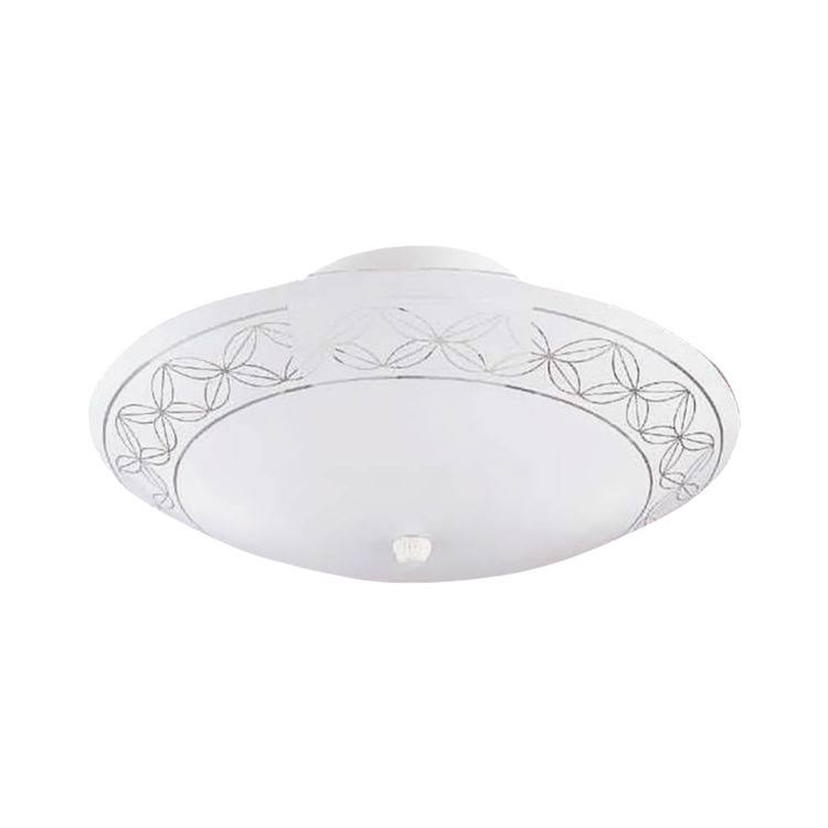 Boston Harbor Semi Flush Mount Ceiling Light - White
