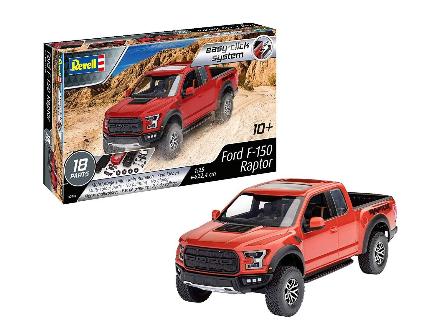 Revell 7048 2017 Ford F-150 Raptor Plastic Model Kit - 1:25 Scale