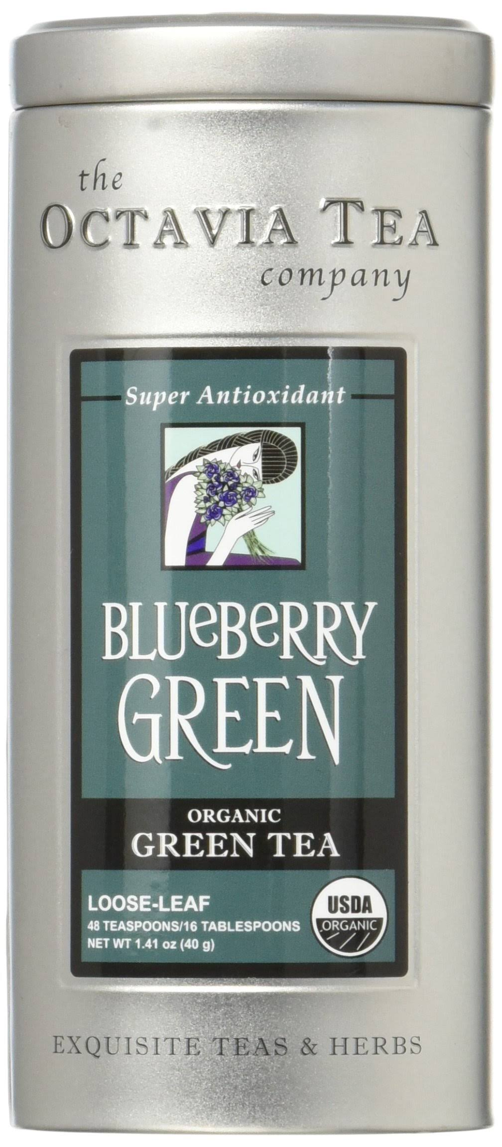 Blueberry Green Octavia Tea 1.9 Ounce