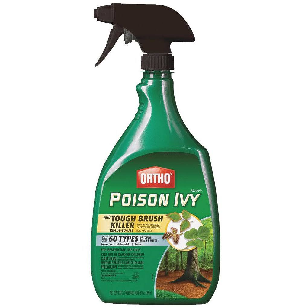 Ortho Max Poison Ivy & Tough Brush Killer - 24oz