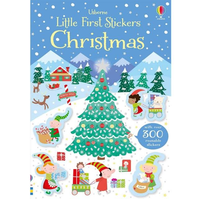 Little First Stickers Christmas [Book]