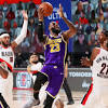 Blazers' Damian Lillard: Hard to beat Lakers when they live at free ...
