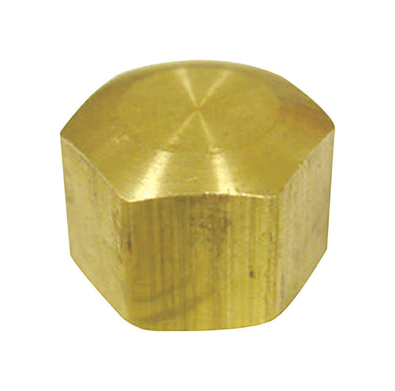 Jmf Compression Cap - Yellow Brass