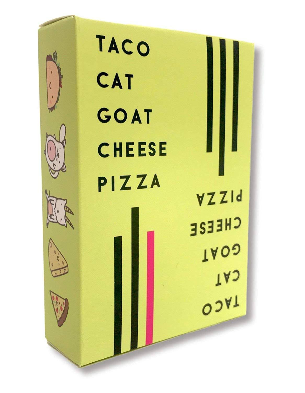 Taco Cat Goat Cheese Pizza Family Board Game