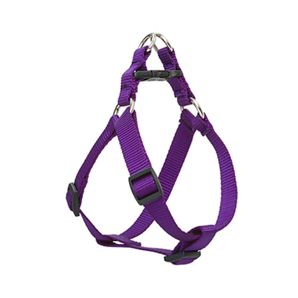 "Lupine Step-In-Dog Harness - Purple, 3/4"" x 2-30"""