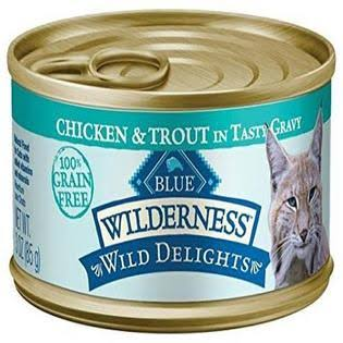 Blue Buffalo Wilderness Grain-Free Wild Delights - Chicken & Trout Recipe