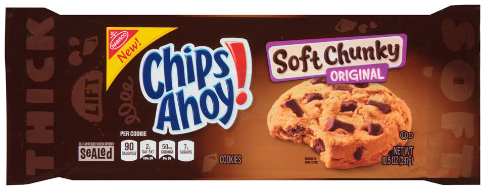 Nabisco Chips Ahoy! Soft Chunky Cookies - Original, 10.5oz