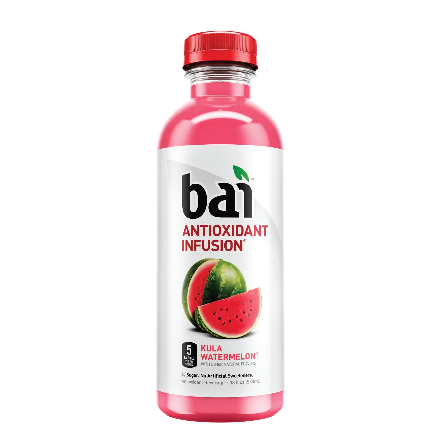 Bai Antioxidant Infusion, Kula Watermelon - 18 fl oz bottle