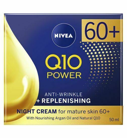 Nivea Q10 Power 60+ Anti Wrinkle Night Cream 50ml