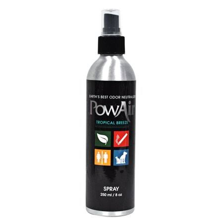 PowAir Natures Odour Neutraliser Spray Essential Oils Various Scents Tropical Breeze - 250ml