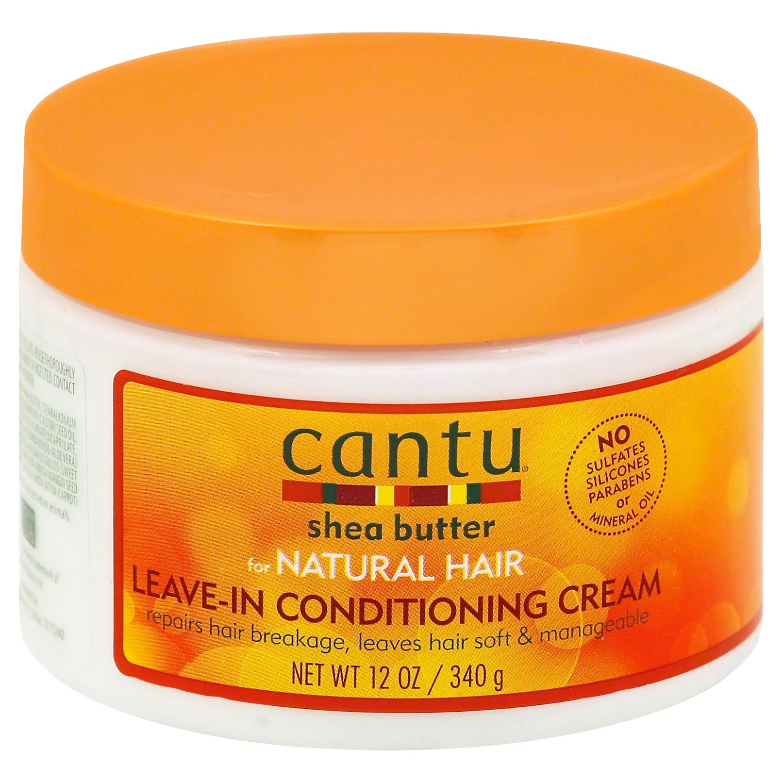 Cantu Shea Butter for Natural Hair Leave in Conditioning Repair Cream - 12oz