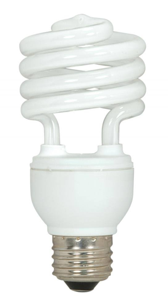 Satco Ultra Mini Spiral Bulb - Soft White, 18W
