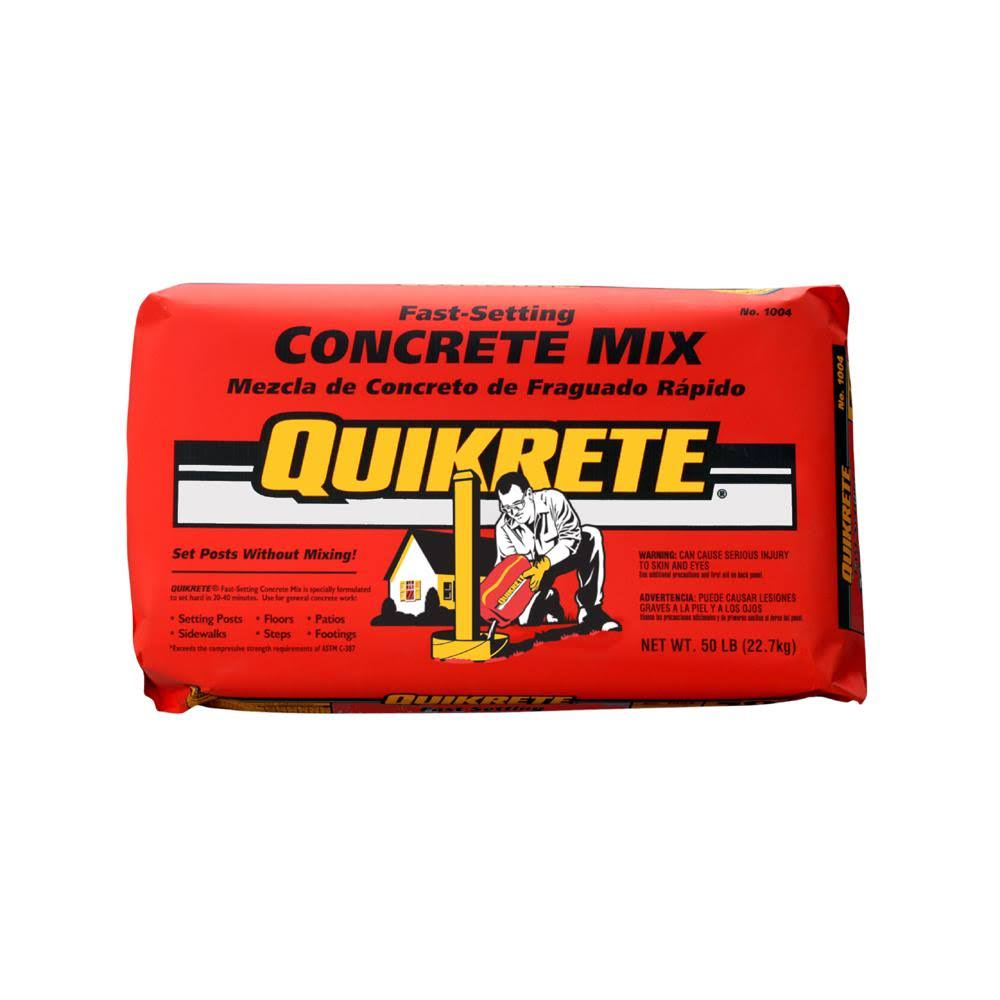 Quikrete Fast Setting Concrete Mix - 50lb