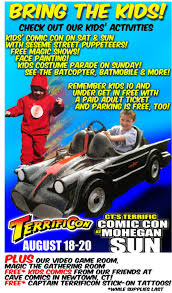 Sesame Street A Magical Halloween Adventure Credits kids day for terrificon comic con august 17 19 2018