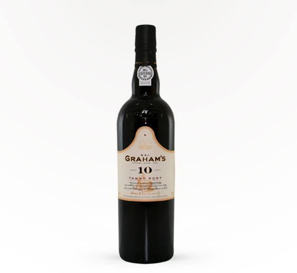 Graham's 10 Year Tawny Port Wine, Portugal (Vintage Varies) - 750 ml bottle