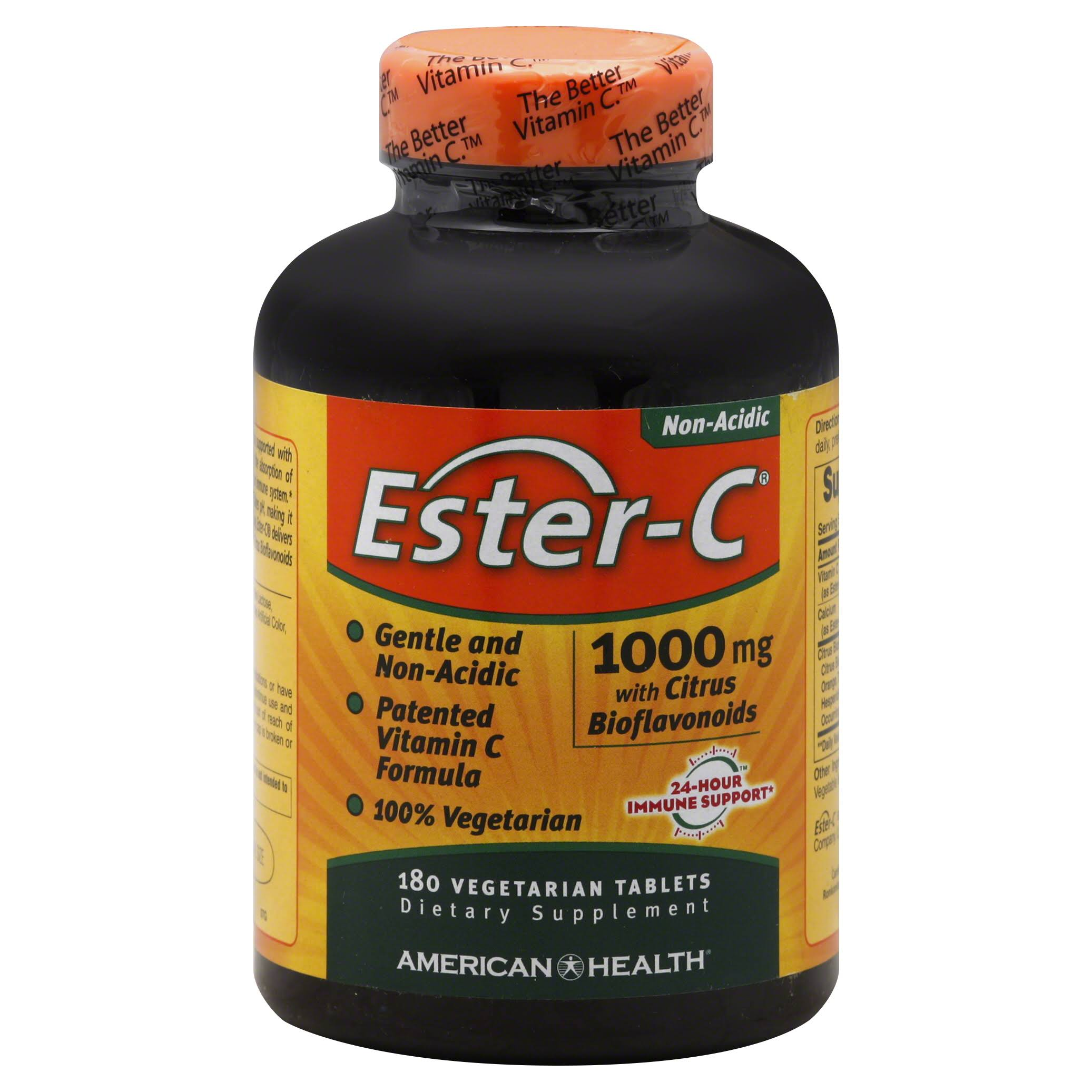 American Health Ester-C with Citrus Bioflavonoids - 1000mg, 180 Vegetarian Tablets