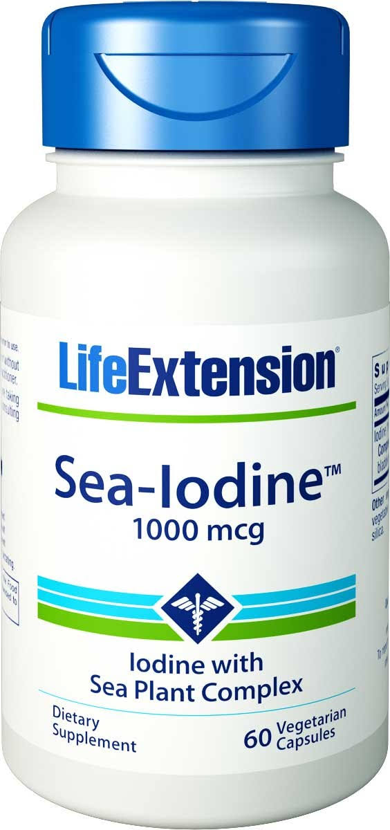 Life Extension Sea-Iodine Capsules - 1000mcg, 60ct