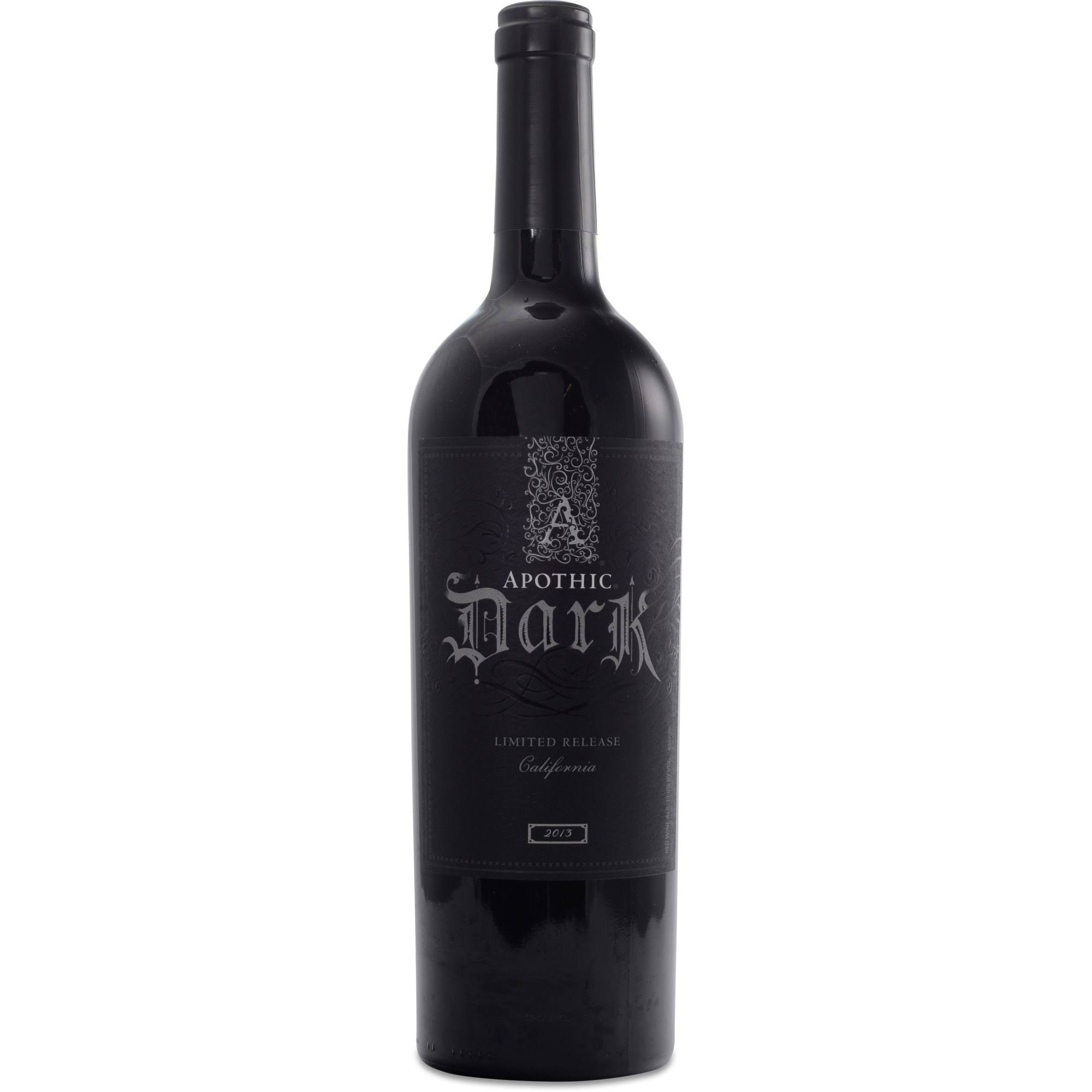 Apothic Dark Red Blend - California