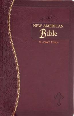 Saint Joseph Medium Size Gift Bible - Nabre