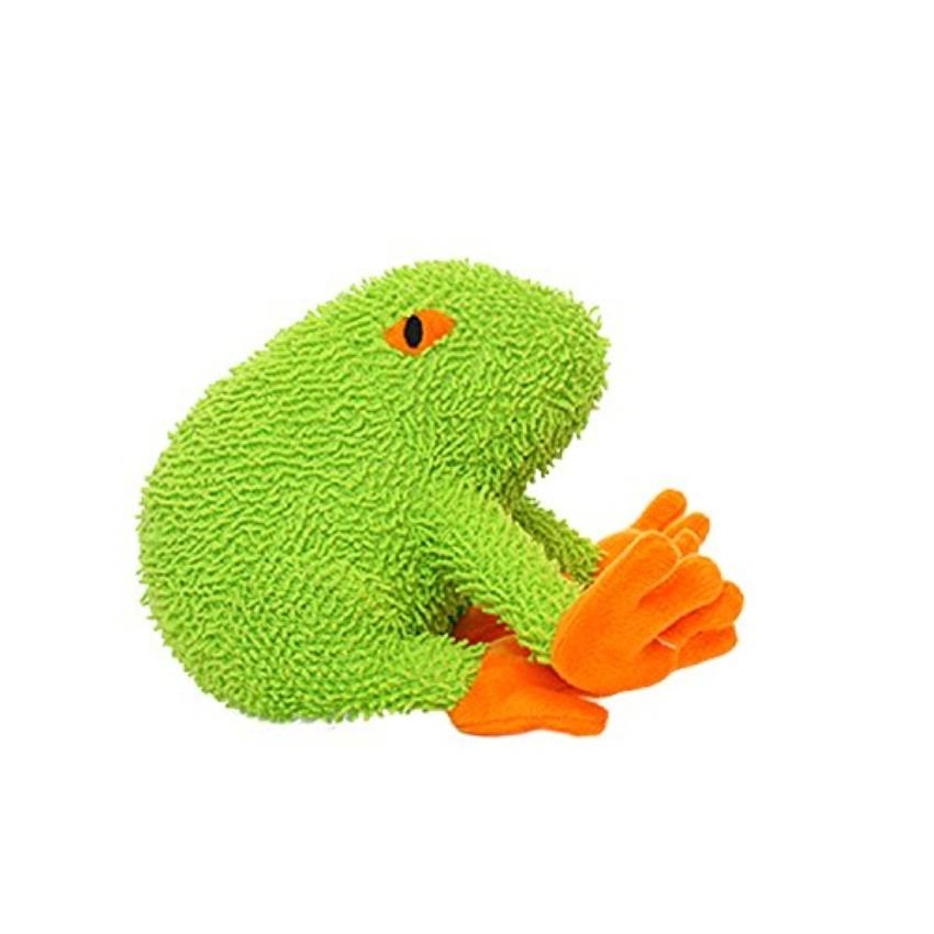 Mighty Frog Microfiber Dog Toy