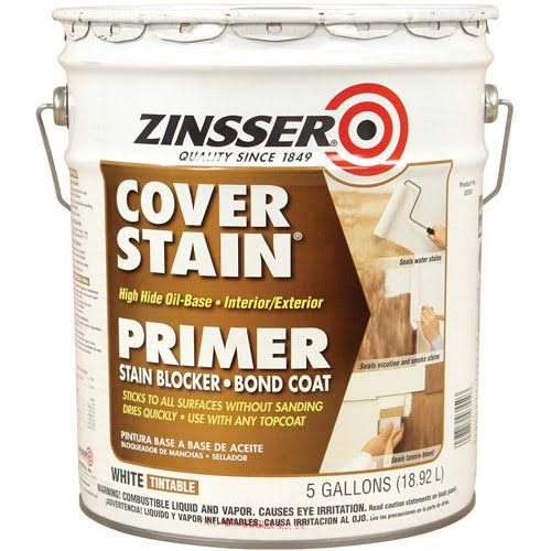 Zinsser High Hide Cover Stain - 5gal