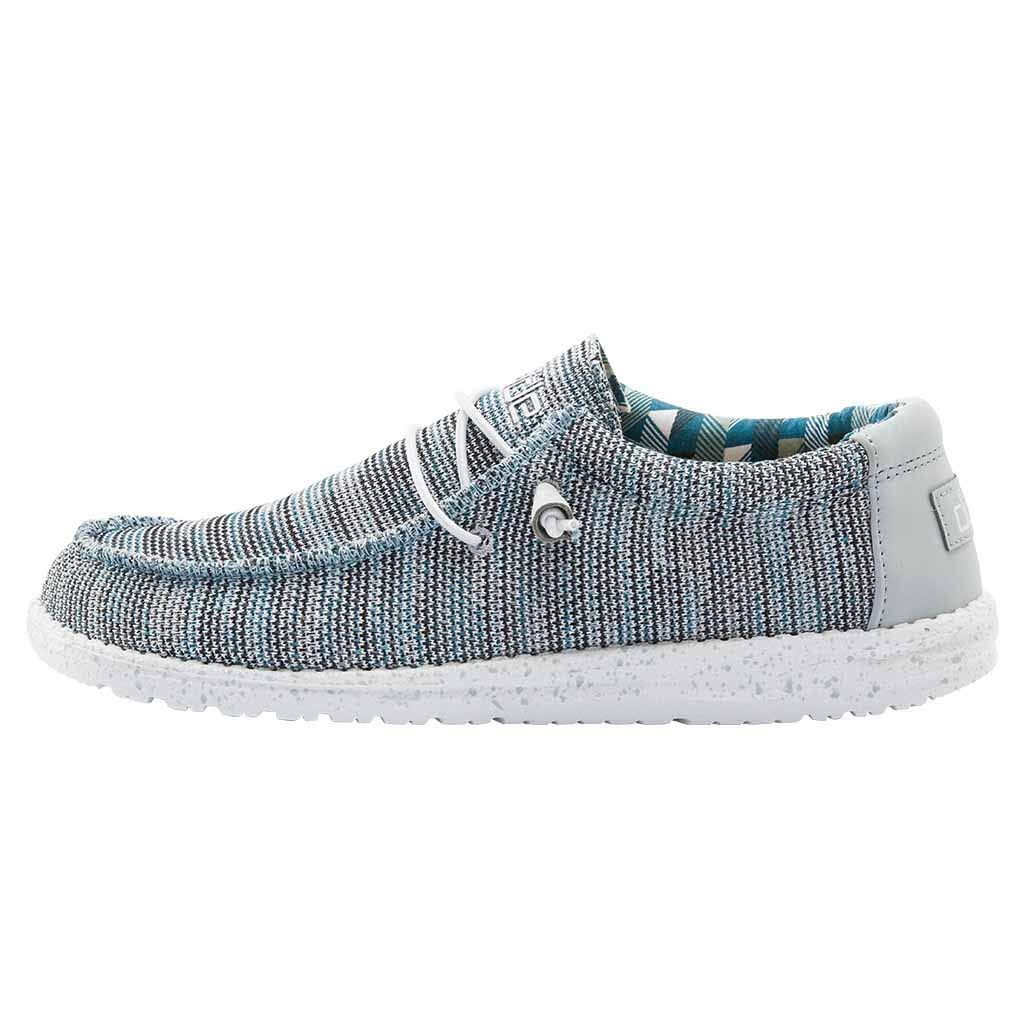 Hey Dude Wally Sox 110350127 Ice Grey