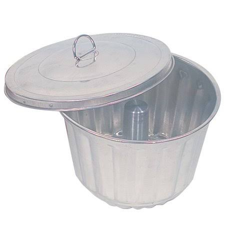 Fox Run Steamed Pudding Mold And Lid - 2qt
