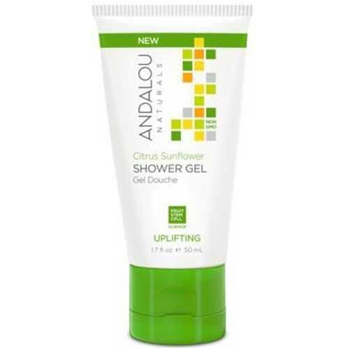 Andalou Naturals Uplifting Shower Gel Citrus Sunflower - 1.7 fl oz