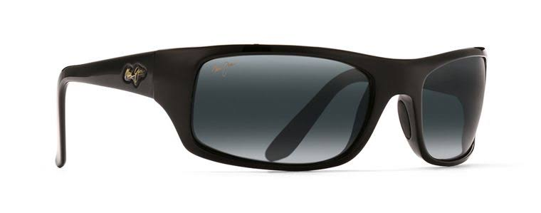 Maui Jim Peahi Sunglasses Gloss Black