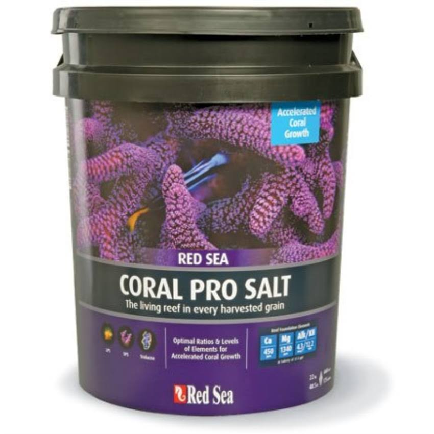 Red Sea Coral Pro Marine Salt For Aquarium - 175 Gallon